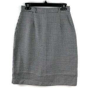 Bobbie Brooks Vintage Union Houndstooth Skirt